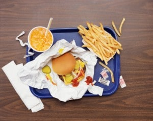 It's Not Your Cardboard Fast Food That Might Kill You; It's the Paper Wrapping